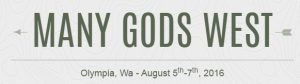 Many Gods West 2016